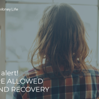 Anxiety Alert! YOU ARE ALLOWED REST AND RECOVERY